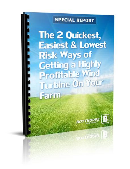 farmers wind turbine report