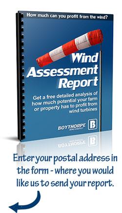 wind turbine wind assessment report