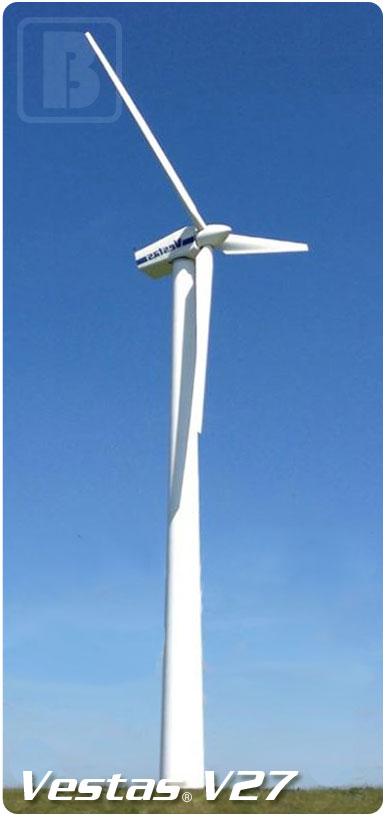 Vestas V27 225kW wind turbine