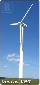 Refurbished Vestas V29 supplied by BWE