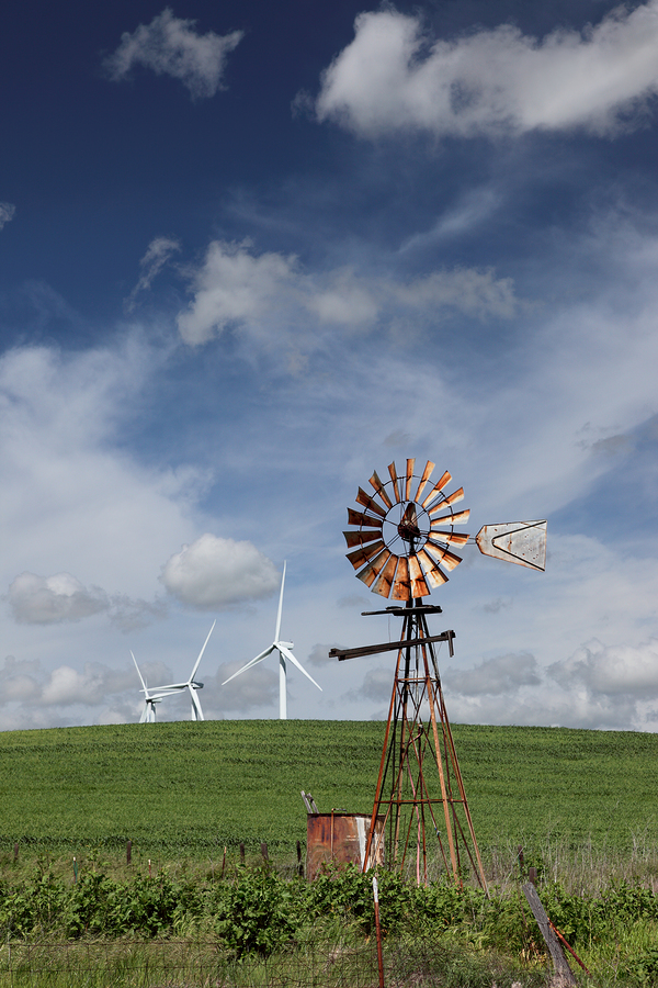 history of wind turbines