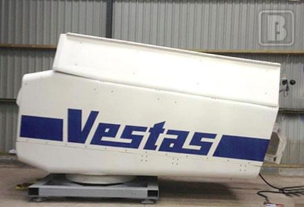 Vestas refurbishment in progress