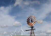 history of wind turbines